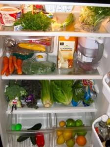 fresh vegetable storage