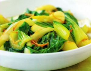 Bok Choy with Oyster Sauce Recipe